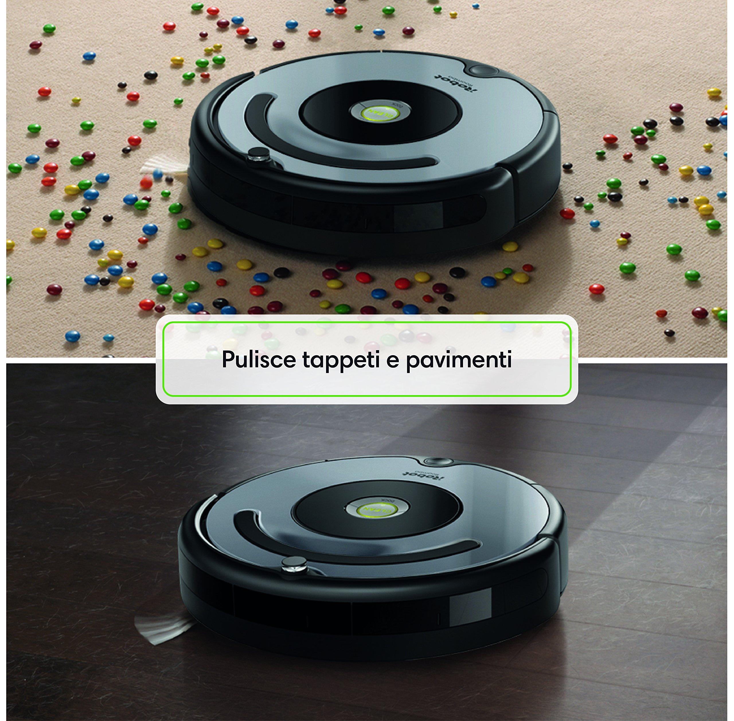 3 fasi iRobot Roomba 615 Robot Aspirapolvere casa Pavimenti,Tappeti,Dirt Detect