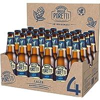 Birrificio Angelo Poretti Birra 4 Luppoli Lager 24 Bottiglie da 33 cl