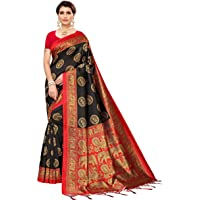 Winza Designer Women's Banarasi Art Silk Saree With Blouse