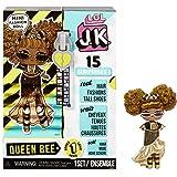 LOL Surprise JK Mini Muñeca de Moda - 15 Sorpresas, Ropa y Accesorios - Coleccionable - Queen Bee