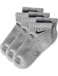 Nike Nike Performance Cushioned Quarter, 3 Pares de calcetines infantil