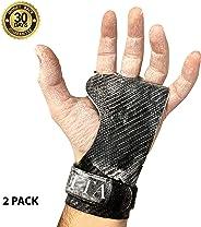 BECUSSITTA | Paracalli Crossfit Uomo Donna | Guanti Protezione Palestra 3a Generazione | Hand Grips Professionale | Pull ups