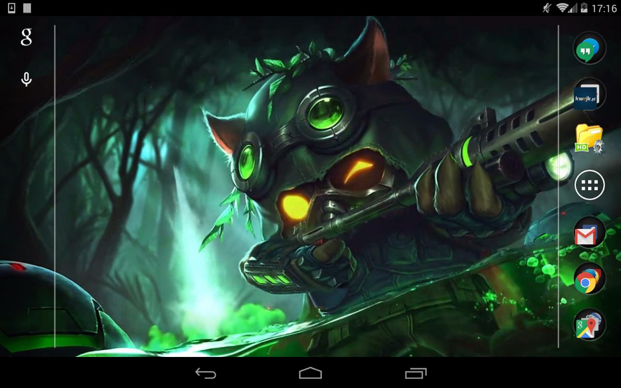 Teemo League Of Legends Live Wallpaper Amazon Co Uk Appstore For