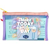 Mr. Wonderful Kit to decorate your diary - Make today a brilliant day, Multicolor
