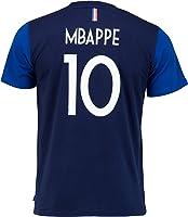 Equipe de FRANCE de football T-Shirt FFF - Kylian MBAPPE - Collection Officielle Taille Enfant garçon