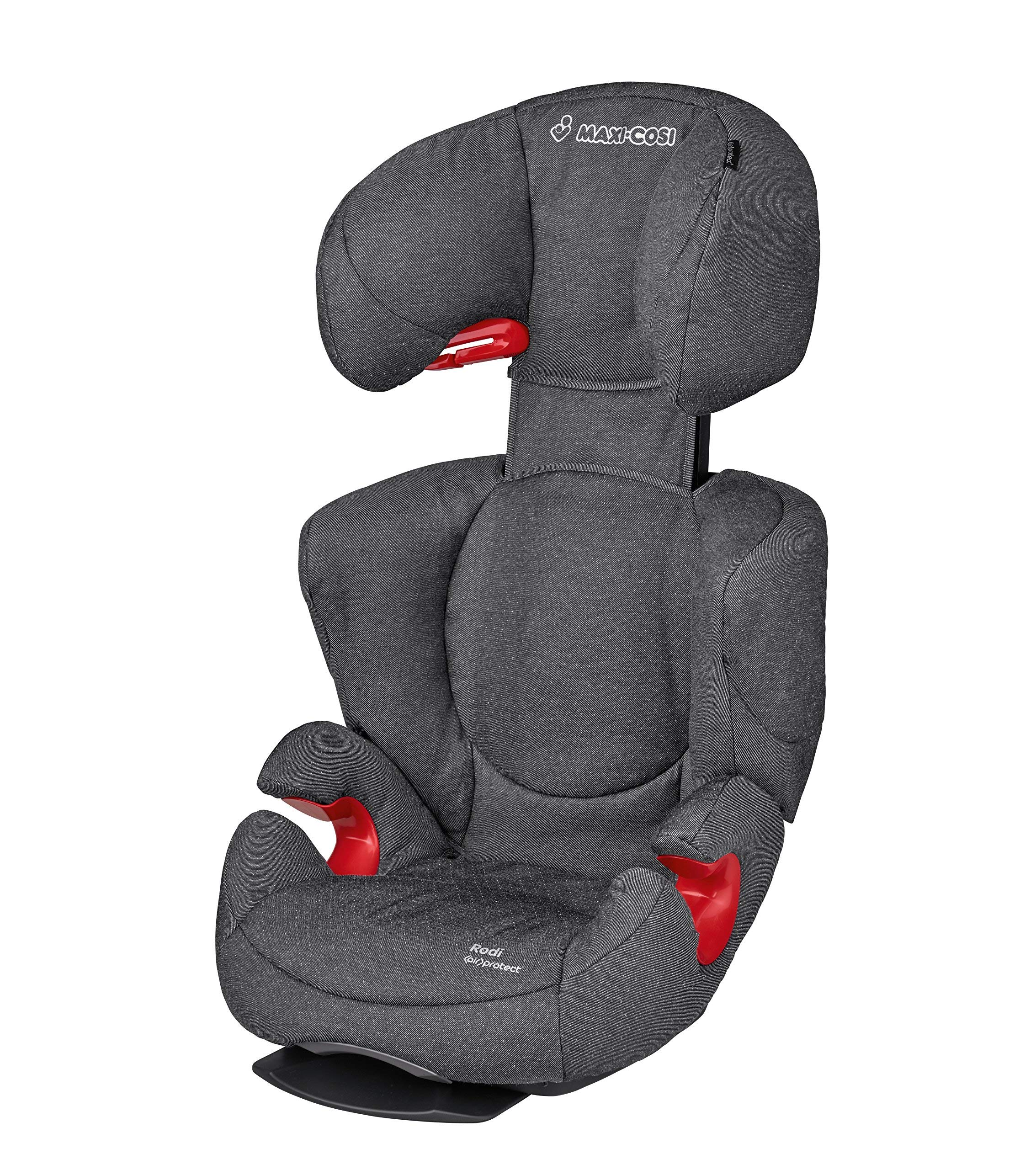 Maxi-Cosi Rodi AirProtect Child Car Seat, Lightweight Highback Booster, 3.5-12 Years, 15-36 kg, Sparkling Grey Maxi-Cosi Child car seat, suitable from 3.5 to 12 years (15-36 kg) Easily install this safe car seat with a three point seat belt and attach the anchorage point in the head rest through your cars head rest Patented AirProtect technology in headrest reduces the risk of head and neck injuries up to 20 percent 2