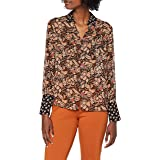 Scotch & Soda Button Through Shirt in Mixed Prints Camicia Donna