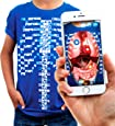 Virtuali-Tee   Educational Augmented Reality T-Shirt   STEM Toy Ages 3 and Up (Enfants XS (3-4 Ans))