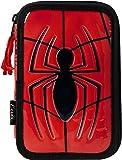 Spiderman Federmäppchen gefüllt Doubledecker 2700-221, Mehrfarbig (Multicolor), 19 cm