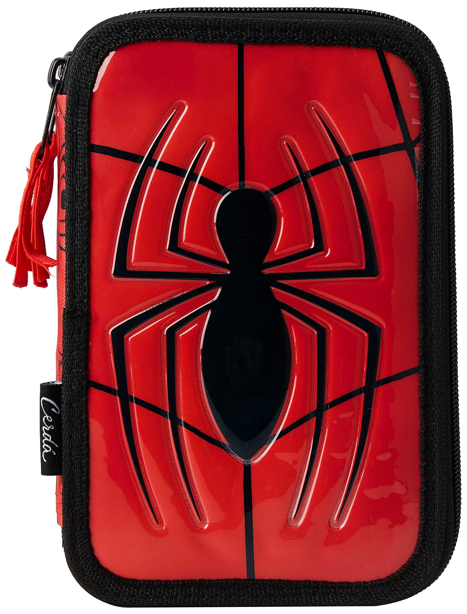 Spider-Man-2700000221 Spiderman Plumier, Multicolor, 19 cm (Artesanía Cerdá CD-27-0221)