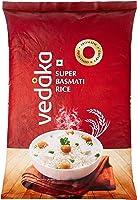 Amazon Brand - Vedaka Super Basmati Rice, 5 kg