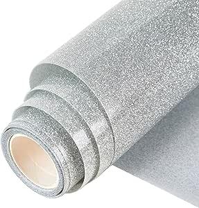 Nero e Bianco Heat Transfer Iron On Htv confezione 30,5/x 25,4/cm da 6/fogli in vinile per pressa di calore per DIY Shrit