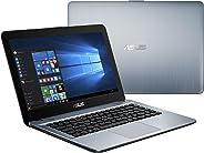 Asus X441BA 14 inches LED Laptop (Silver) - Amd AMD A6 9225 2.6 GHz, 4 GB RAM, 500 GB HDD, AMD Radeon R5, Windows 10