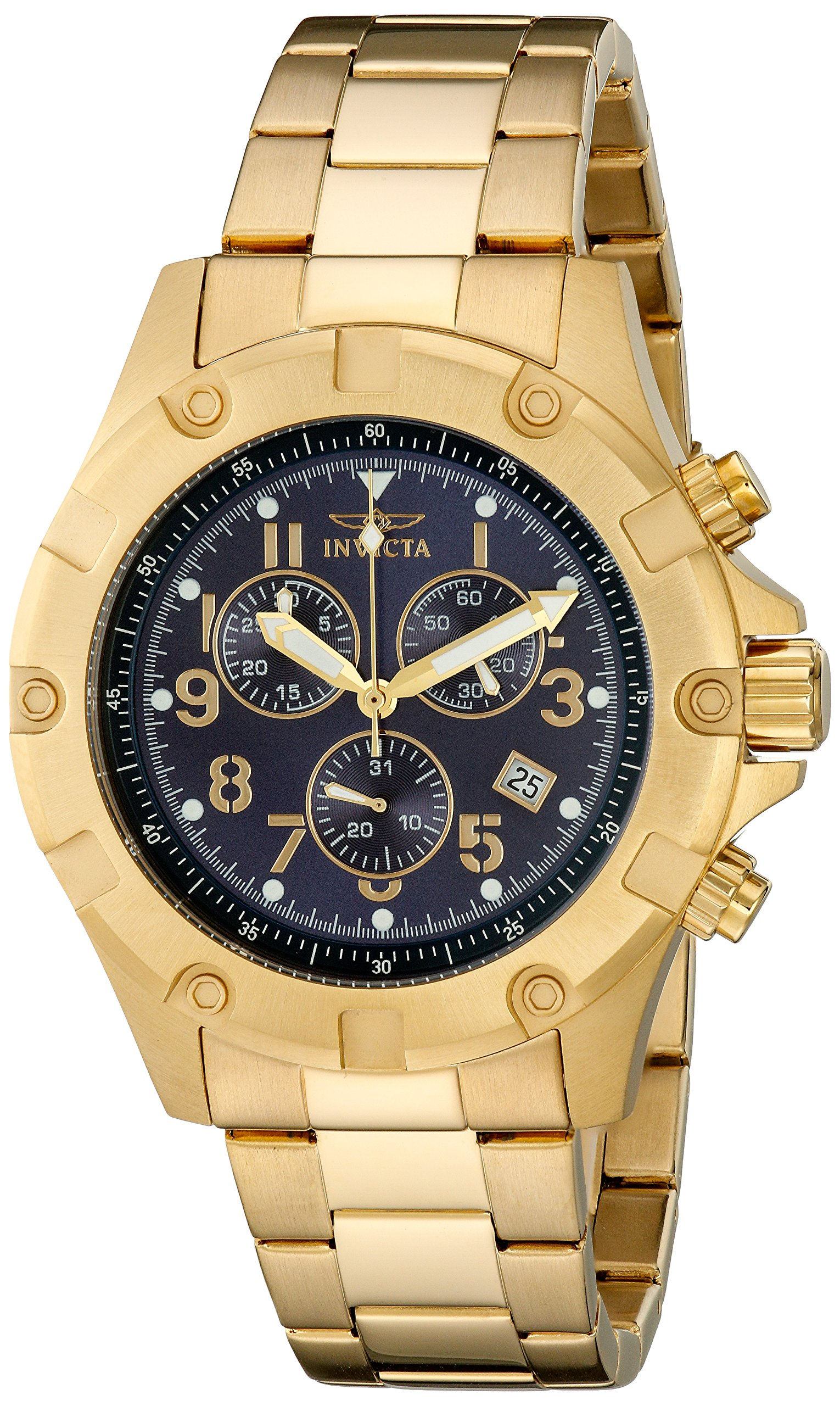 Invicta 13620 Specialty Reloj para Hombre acero inoxidable Cuarzo Esfera azul