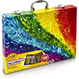 Crayola Inspiration art case - Kit de manualidades para niños (Lápiz de color, Lápiz, Rotulador), 140 piezas , Modelos/colore
