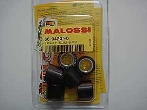 Malossi Variatorrollen 19 X 15 5 Mm Gewicht 4 3 G 4 7 G 5 G 5 5 G 5 7 G 6 1 G 6 5 G 7 2 G Artikelnummer 669420 5 7 Gr Auto