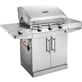 Char-Broil Performance Series T36G5 - Griglia Barbecue a Gas con 3 Fuochi con Tecnologia TRU-Infrared, Finitura Acciaio Inox