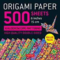 500 Sheets Kaleidoscope Colors : Double-Sided