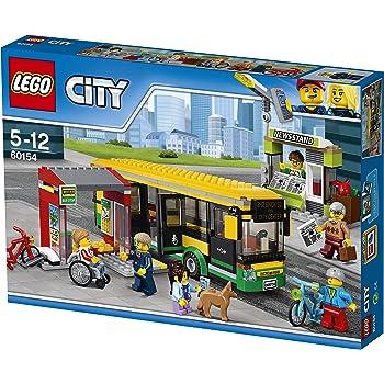 Lego Uk 60154 Bus Station Construction Toy Lego Amazon