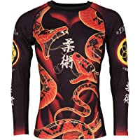 Tatami Fightwear Duelling Snakes Rash Guard, Maglia Anti UV Uomo