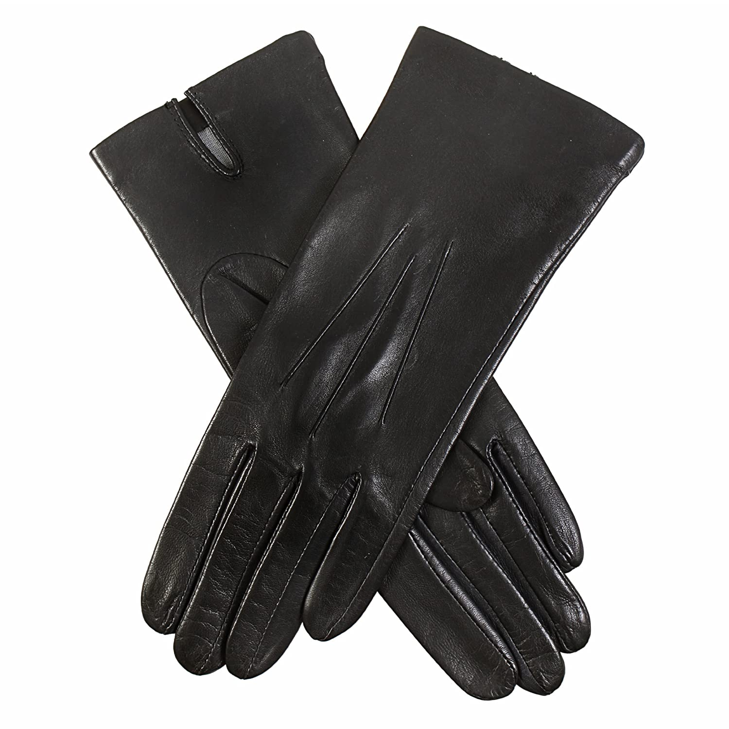 John lewis ladies black leather gloves - John Lewis Ladies Black Leather Gloves 6