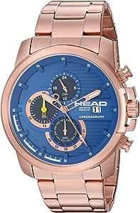 Head Orologio Cronografo Quarzo Uomo con Cinturino in Acciaio Inox HE-003-05