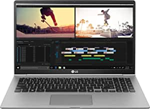 "LG Gram Laptop 15Z990 Notebook, Display 15.6"" Full HD IPS, Processore i5-8265U, RAM 8 GB DDR4, SSD 512 GB, Grafica UHD 620, HD Audio con DTS Headphone-X, Windows 10 Home (64bit), Argento"
