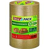 tesapack Paper Standard - Milieuvriendelijke Papieren Verpakkingstape, 56% Biologische Materialen - Efficiënt en Recyclebaar