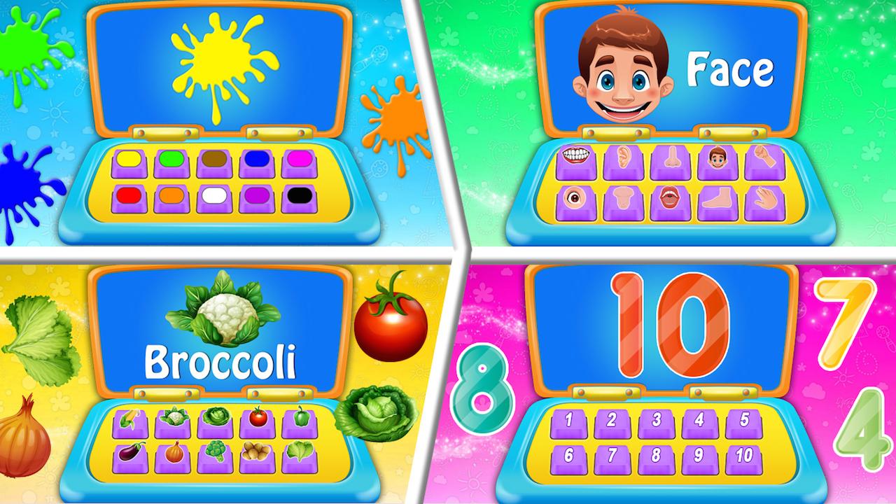 Kids Computer - Alphabet, Number, Animals Computer ...