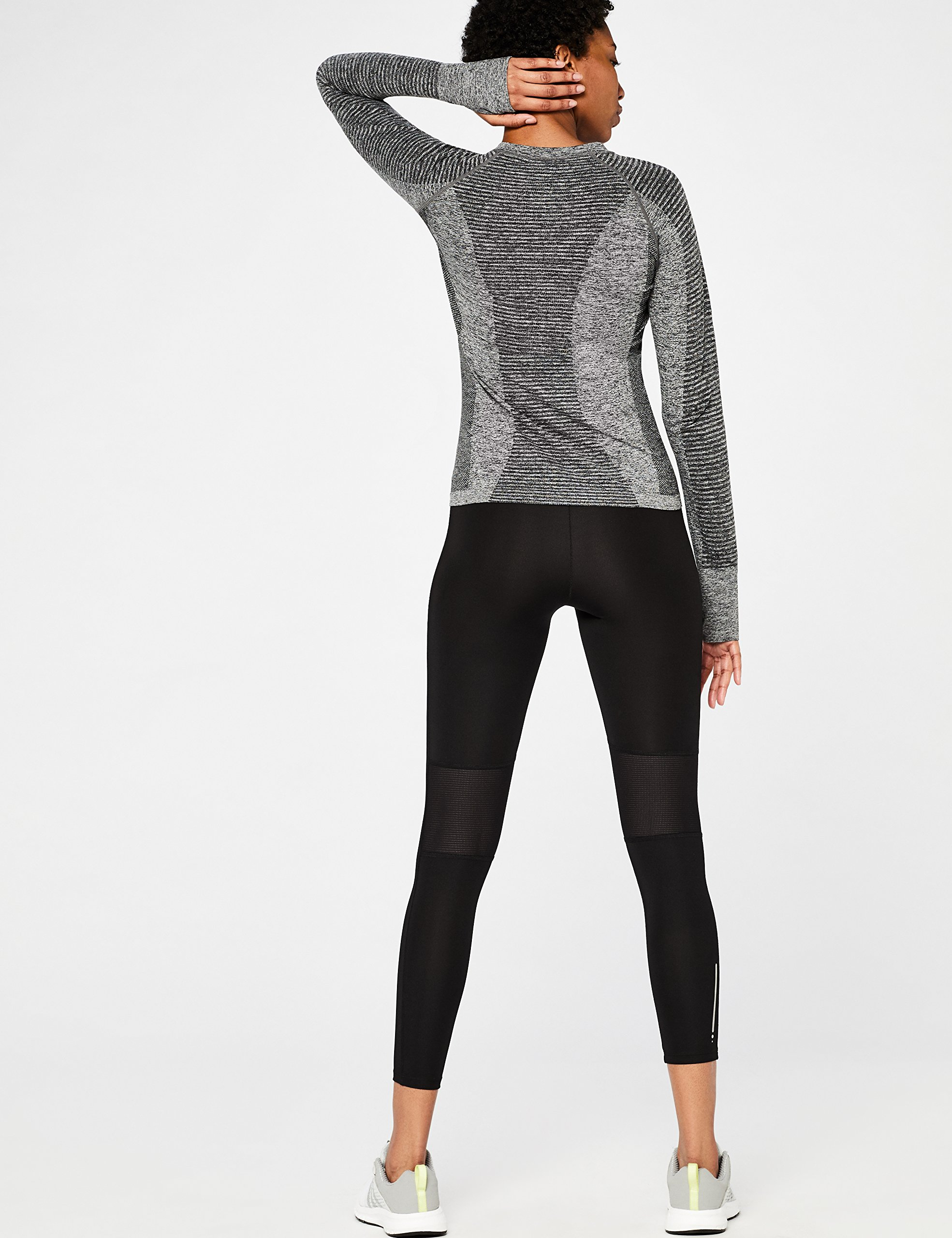 Amazon Brand - AURIQUE Women's Seamless Long Sleeve Sports Top 5