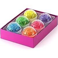 Balles d'élastiques multicolores, 270 bandes élastiques colorées