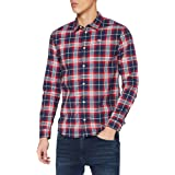 Tommy Hilfiger Tjm Stretch Poplin Check Shirt Camicia Uomo