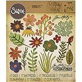 Sizzix Set DE 15 Matrices de Découpe, Métal, Multicolore, 19,1 x 14,4 x 0,4 cm