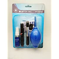 Blutek Professional Cleaning Kit 9 in 1 (Air Blower,Brush,Lenspen,cleaning cloth,cotton bud,Cleaning Paper,Cleaning…