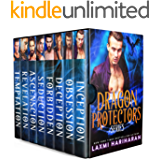 Dragon Protectors Boxed Set: Dragon Shifter Alpha Warrior Fated Mates Romance (English Edition)