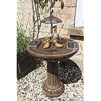 Smart Garden Solar Duck Family Umbrella Fountain