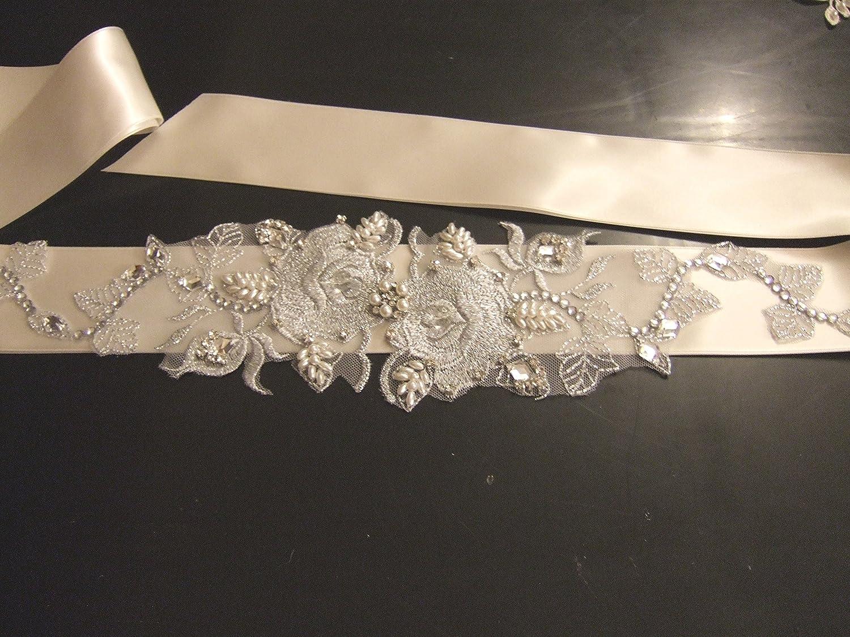 Brautschmuck perlen ivory  Brautschmuck Hochzeit Kleid Gürtel Schärpe Brautschmuck Silber ...