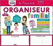Organiseur familial Mémoniak 2019-2020 - Calendrier sur 16 mois de sept 2019 à dec 2020 : des magnets ultra-solides et une fr