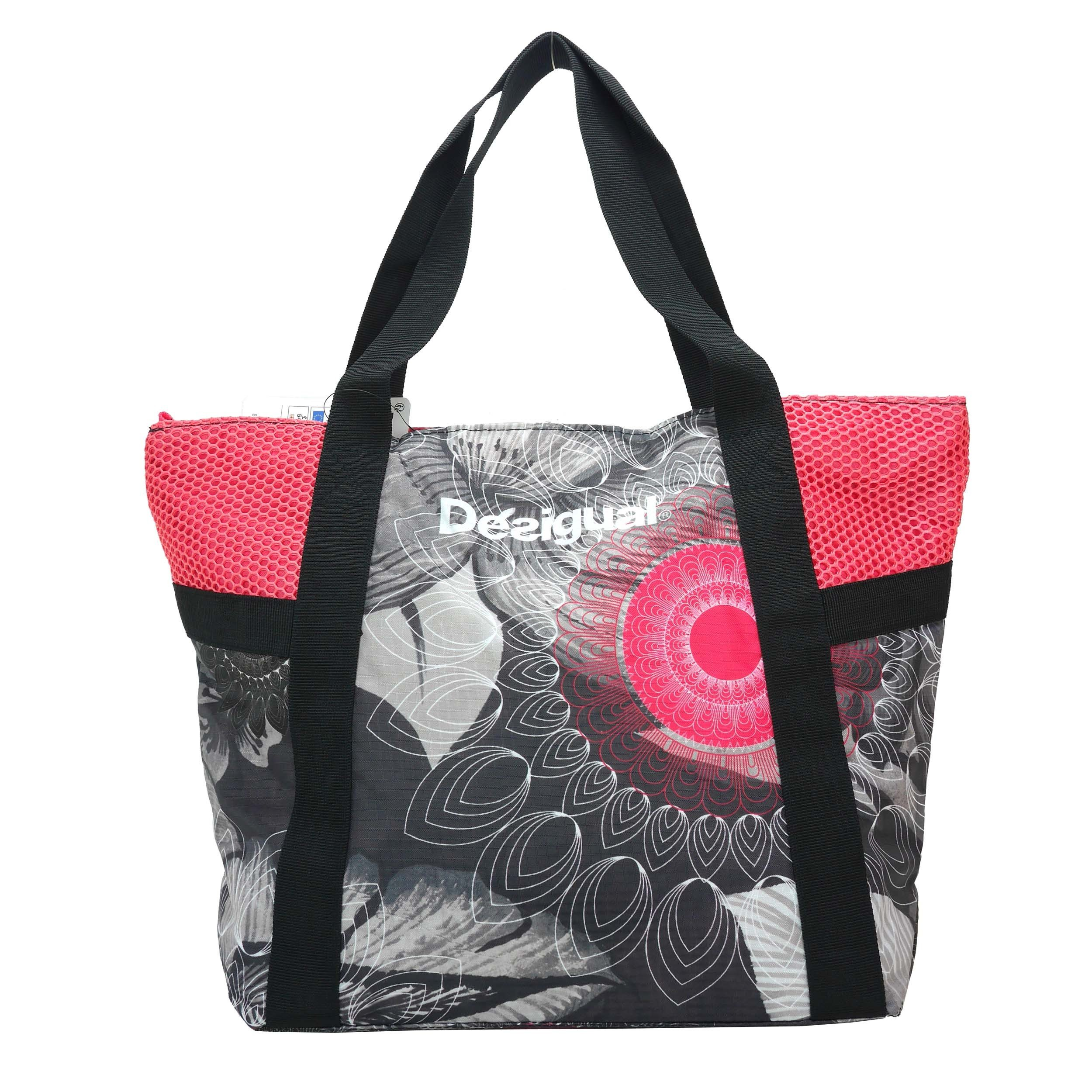 Desigual Bols Shopping Bag B Gris Metal