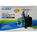 SOBO Submersible Power Head - WP-5200-75W - F.Max 3500 L/H - - Water Lifting Pump - Pond and Fountain and Sump Filter Systems