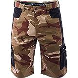 DINOZAVR Crambe Pantaloni Corti da Lavoro Uomo - Bermuda Cargo Pantaloncini Estivi con Tasche Multifunzione