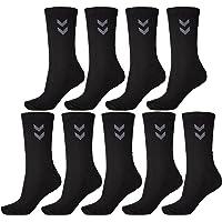 Hummel Lot de 9 paires de chaussettes de sport unisexes