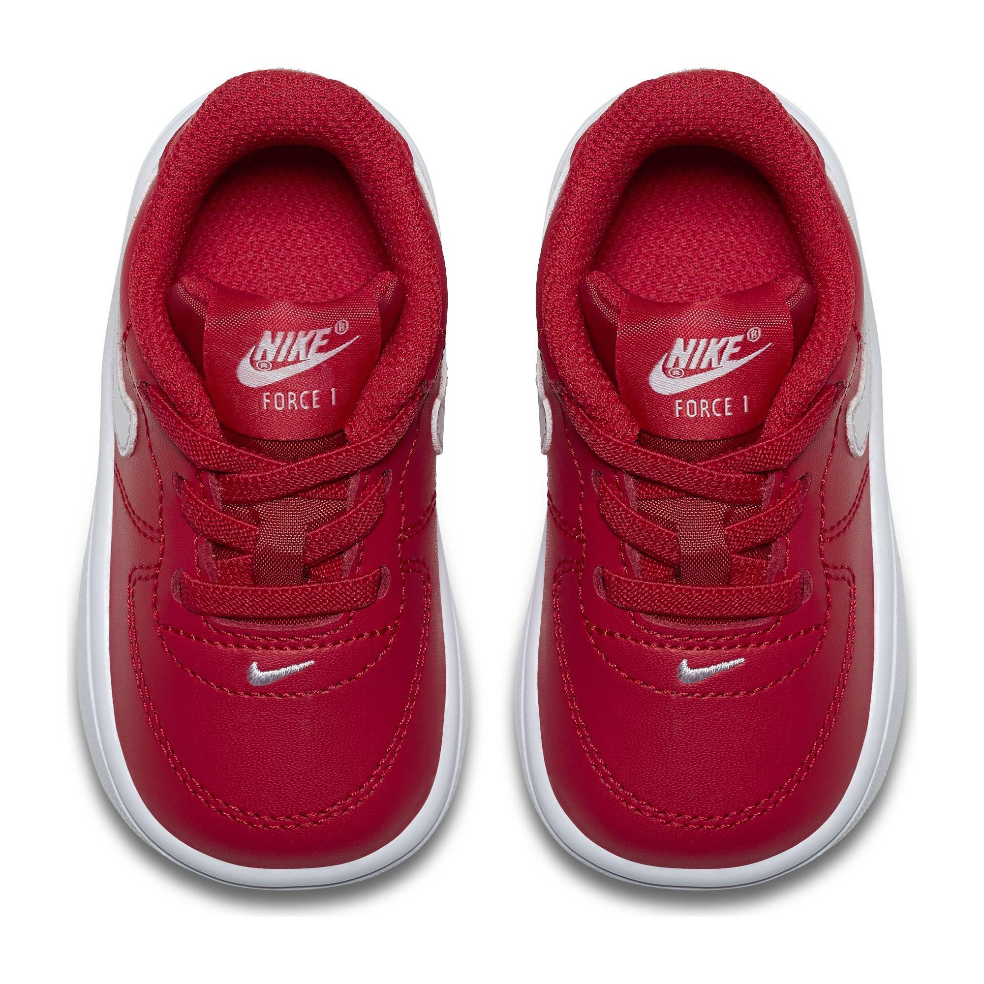 "f4e82cb5dbfa4 ▷ Ofertas Nike Air Force 1  18 Toddler TD ""University Red"" Retro ..."
