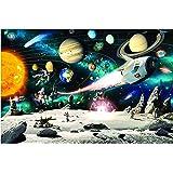 Mixtoys Space Jigsaw Puzzles 1000 Pièces Adultes Pieces Impossible Classiques Pi¨¨Ces Panoramique Cadeau Jouet Fille 8 10 5 6