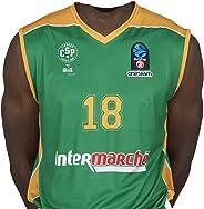 Bigsport Replica Jaiteh Eurocup Limoges Csp Extérieur 2017-2018 Maillot de Basketball Homme