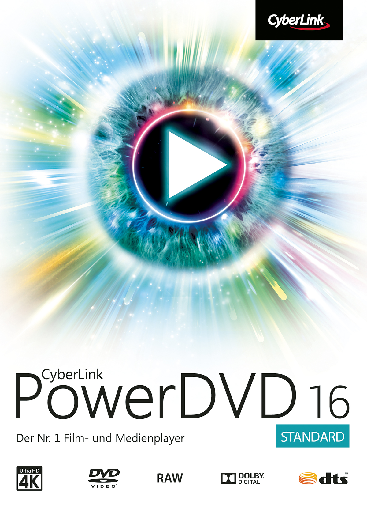CyberLink PowerDVD 16 Standard [Download] (Dvd-media-player-software)