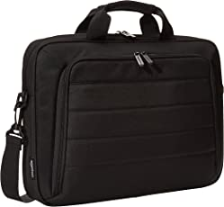 AmazonBasics Laptop and Tablet Case, Black, 17.3 inch