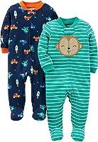 Simple Joys by Carter's Baby, confezione da 2 pezzi, in cotone, per dormire e giocare