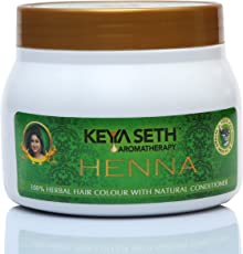 Keya Seth Aromatherapy 100% Hair Colour with Natural Conditioner Henna