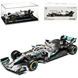 Bburago Race 18-38036 Mercedes AMG Petronas F1 W10 EQ Power Campeonato Mundial Lewis Hamilton Nr 44 Fórmula 1 2019 1/43 Model